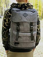 Большой мужской рюкзак серый, Рюкзак для ноутбука