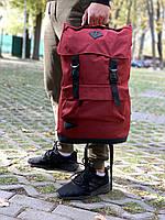 Модный мужской рюкзак красный-черный, Рюкзак для ноутбука