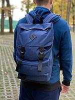 Молодежный рюкзак Мужской синий, Рюкзак для ноутбука
