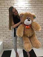Мишка медведь плюшевый  120 см Коричневый , серый