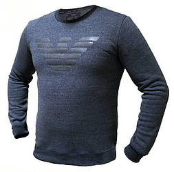 Мужской Батник. Реплика Giorgio Armani. Мужская одежда. Батник чёрный