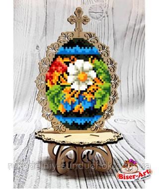 Деревянная заготовка для изготовления бисерной писанки Ромашка 51037