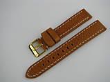 Ремешок кожанный, ширина - 18мм. Ремешок для часов, натуральная кожа., фото 2