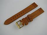 Ремешок кожанный, ширина - 18мм. Ремешок для часов, натуральная кожа., фото 5