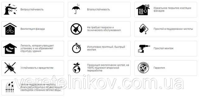 Сайдинг виниловый Вокс купить, цена Харьков.