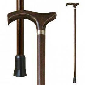 Трость для ходьбы (для инвалидов и пожилых) опорная Мирта Оксфорд деревянная (518)
