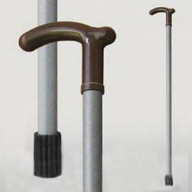 Трость для ходьбы (для инвалидов и пожилых) опорная Мирта серый пластик (520)