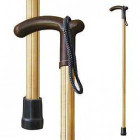 Трость для ходьбы (для инвалидов и пожилых) опорная Мирта Фигурная светлая (522)
