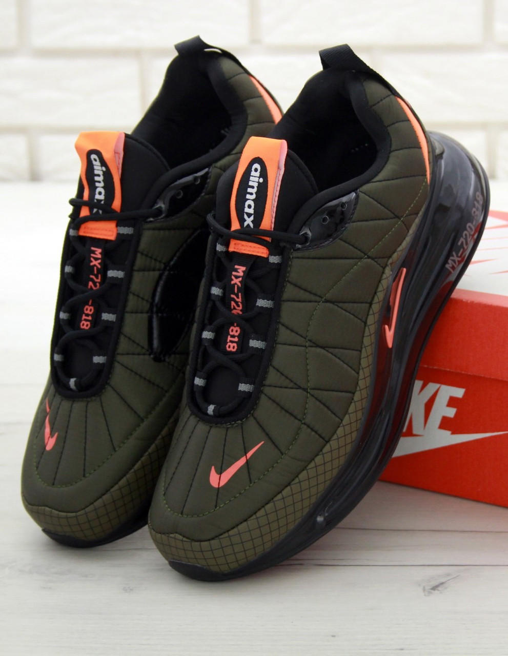 Мужские кроссовки Nike MX-720-818 Khaki (Найк Аир Макс 720-818)
