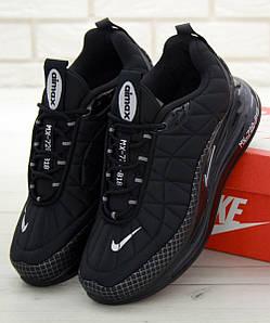 Мужские кроссовки Nike MX-720-818 Black (Найк Аир Макс 720-818 черные)
