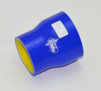 Патрубок силиконовый прямой усиленный 57-70 мм 4-х слойный Premium