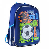 Рюкзак школьный каркасный 1Вересня H-27 Football winner 557713