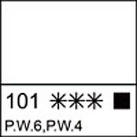Краска масляная ЛАДОГА белила титановые, 46мл, арт. 1204101, код: 351626