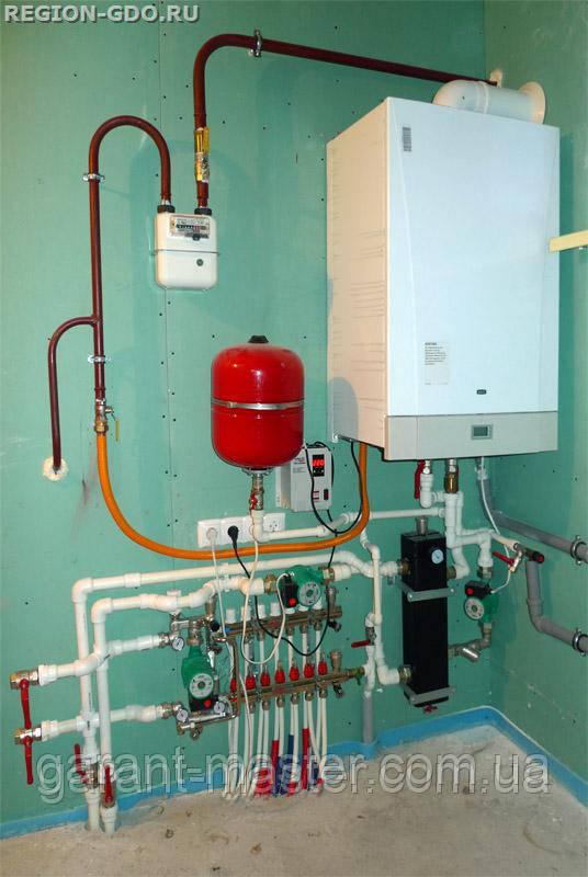 Ремонт, установка газовой колонки, котла в Ивано-Франковске