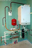 Ремонт, установка газовой колонки, котла в Сумах