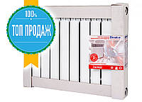 Биметаллический радиатор 500/76 10 секций Ekvator