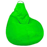 Кресло мешок SOFTLAND Груша для подростков L 110х80 см Салатовый (SFLD19)