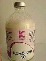 Комби-кел 40 (пенициллин+стрептомицин) 100 мл Kela (Бельгия) антибиотик для животных