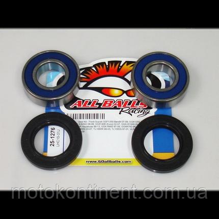 ALL BALLS 25-1276 подшипники переднего колеса 25x52x15 (6205) SUZUKI DL, GSF, GSX, GSX-R, M, SV, TL, VLR, VZR, фото 2