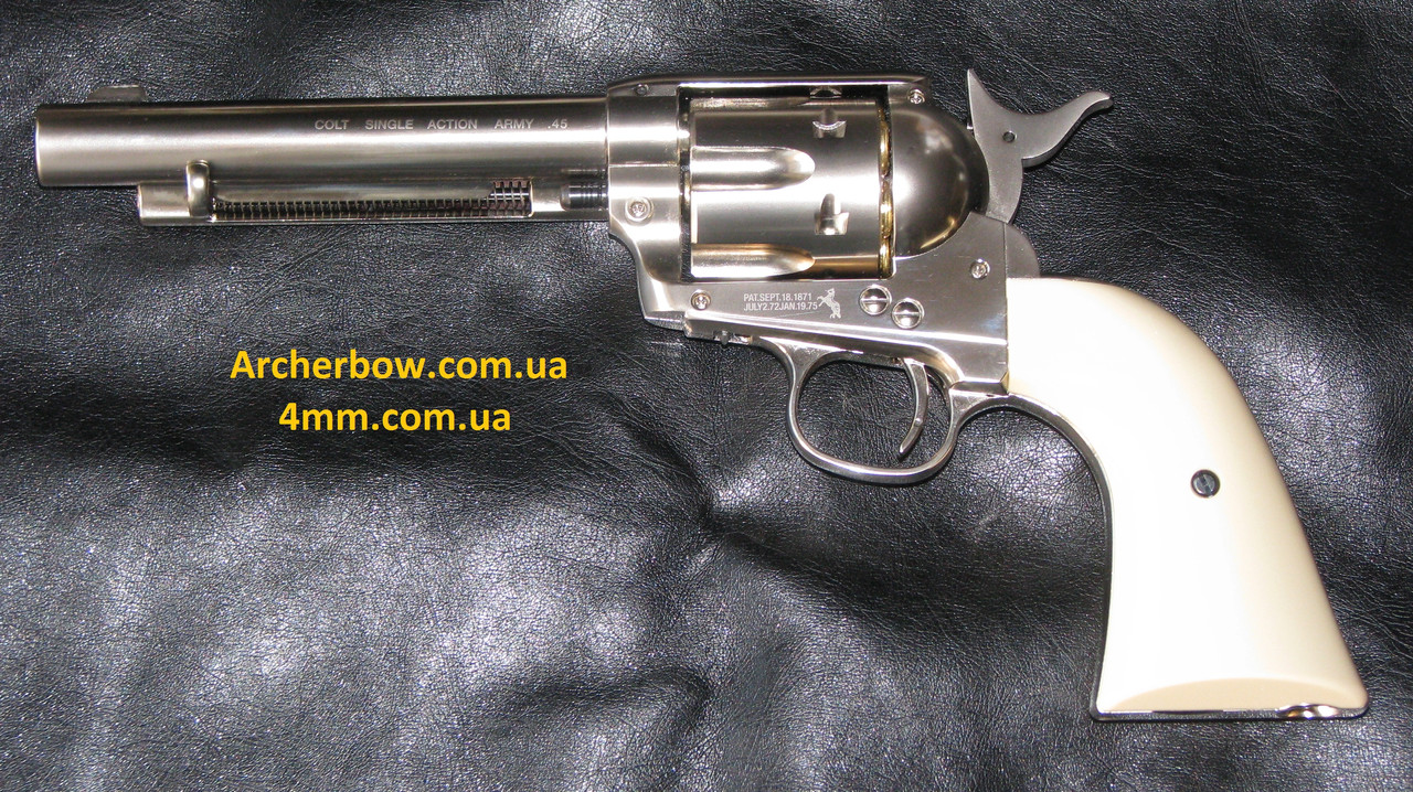 Пневматический револьвер Umarex colt single action army 45