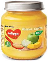 Пюре детское фруктовое яблоко тыква 6м+ 125г Milupa Nutricia 122221
