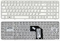 Клавиатура для ноутбука HP Pavilion G6-2000 G6T-2000 G6-2200 G6-2300 (русская раскладка, белый с рамкой тип 5)