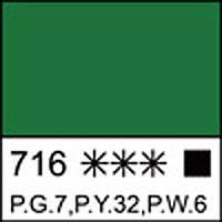 Краска гуашевая МАСТЕР-КЛАСС травяная зеленая, 40мл ЗХК      код: 351612