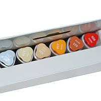 Набор маркеров для скетчей Santi sketch Skin Tones, 6 шт/уп. код: 390568, фото 4