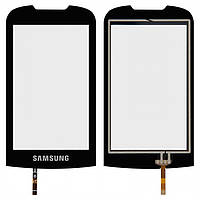 Touchscreen (сенсорный экран) для Samsung S5560, черный, оригинал