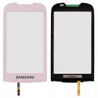 Touchscreen (сенсорный экран) для Samsung S5560, оригинал (розовый)