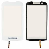 Touchscreen (сенсорный экран) для Samsung S5560, оригинал (белый)