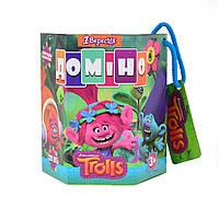 """Домино детское """"Trolls"""", код: 953701"""