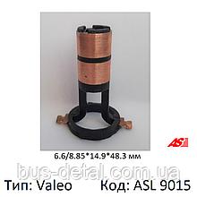 Контактні кільця генератора Valeo, 7.1х14.9х48.3 - мм, колектор ASL9015 (AS PL)