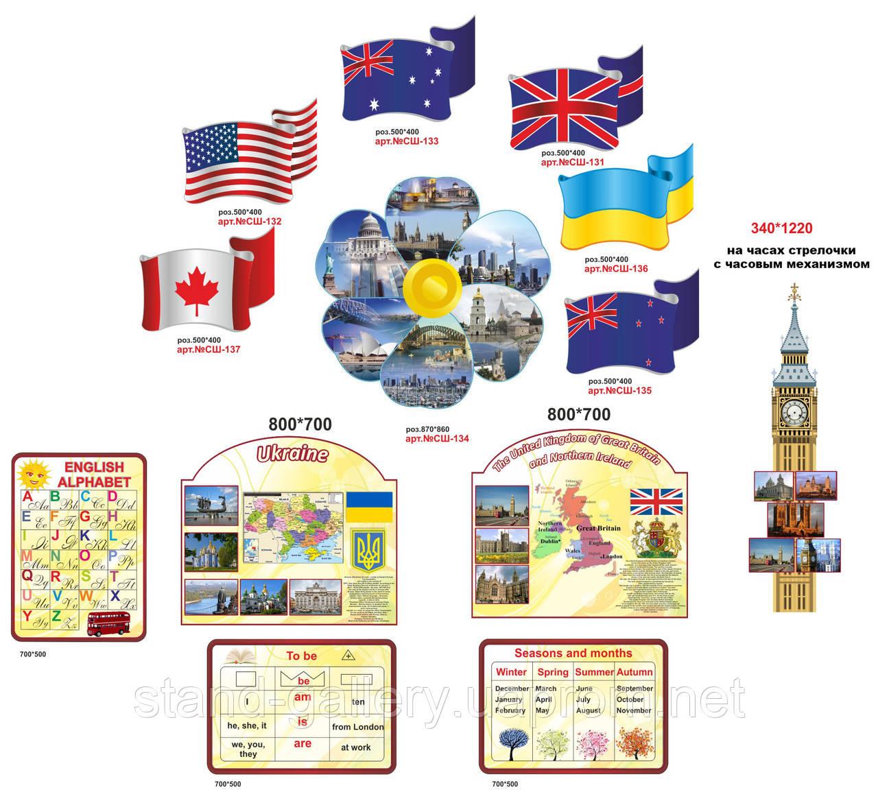 Обладнання для Кабинету англійської мови
