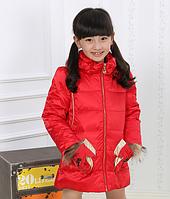 Зимний пуховик   на девочку Д 0961-И