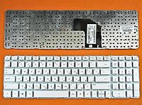 Клавиатура для ноутбука HP Pavilion G6-2000 G6T-2000 G6-2200 G6-2300 (русская раскладка, белый цвет, тип 2)
