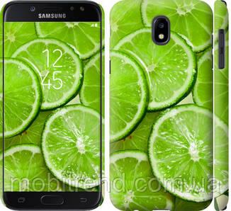 Чехол на Samsung Galaxy J5 J530 (2017) Лайм