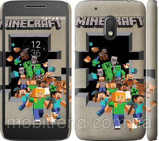 Чехол на Motorola Moto G4 Play Minecraft 6