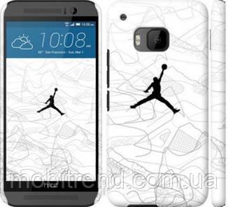 Чехол на HTC One M9 Air Jordan