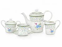 """Чайный фарфоровый сервиз """"Эмили"""" Lefard 15 предметов 220 мл (924-009)"""