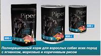 """""""DN Piper"""" консервы для собак с ягненком, морковкой и коричневым рисом 400гр., 24шт/уп."""