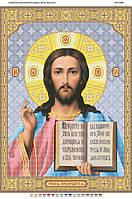 """Схема для вышивки бисером иконы """"Иисус Христос"""""""