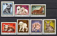 Венгрия 1974 ферма животные - MNH XF