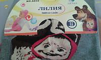 Колготки детские  махровые под подгузники серые Маша и медведь р.62-68 Лилия