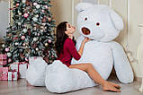 Огромный мягкий мишка Yarokuz Уильям 250 см Белый, фото 5