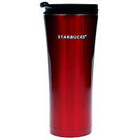 Термокружка Starbucks 500 мл Бордовая (107277R), фото 1