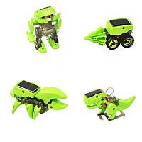 Детский конструктор 4 в 1 On top робот/динозавр/машина/скорпион Зеленый (RD611R)