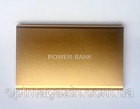 Power Bank Повербанк золото матовий