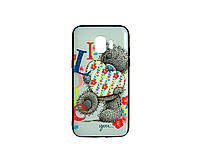 Чехол-накладка 3D для Samsung J700 Galaxy J7 Lovely Bear (1614), фото 1