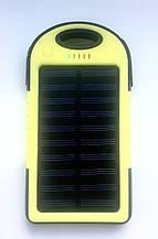 Power Bank Повербанк ES500 силіконовий жовтий